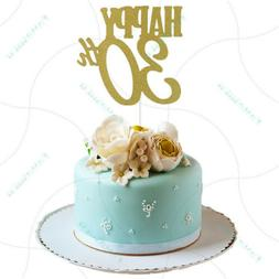 happy 30th cake toppers anniversary party supplies birthday