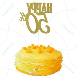 happy 50th cake toppers anniversary party supplies birthday