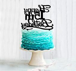 Happy 15TH Birthday Acrylic Cake Topper For 15 Years Old Bir