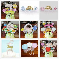 Happy Birthday Cake Topper Party Supply Event Decoration Kid