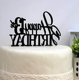 All About Details Happy 13th Birthday Cake Topper