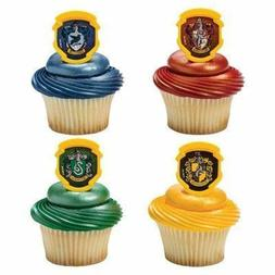 Harry Potter - Hogwarts Houses Cupcake Rings - 24 pc by Deco