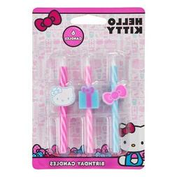 Hello Kitty Birthday Cake Candles Decoration Party