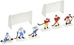 Hockey Players with 2 Goals Cake Topper Decoration Kit