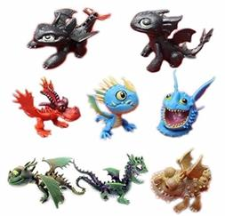 How To Train Your Dragon Playset 8 Figure Cake Topper