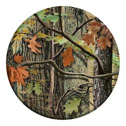 """Hunting Camo Dinner Plate 8.75""""  Party Supplies"""