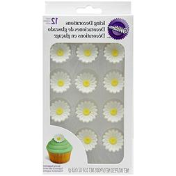 Icing Decorations 12/Pkg-Daisies