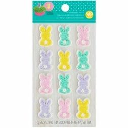 Wilton Icing Decorations Easter Bunny Edible Cupcake Cake To