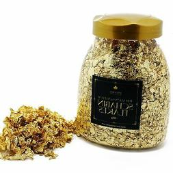 Imitation Gold Leaf Schabin Flakes 30gm