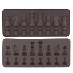 International Chess Silicone Mold Fondant Cupcake Toppers Ca