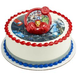 DECOPAC IRONMAN AVENGERS CAKE TOPPER DECORATING KIT NEW 2275