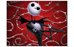 JACK Nightmare Before Christmas Edible Image Cake topper Bir