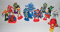 Justice League Deluxe Party Favors Goody Bag Fillers Set of