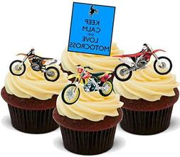 Keep Calm Motocross Biker Mix - Fun Novelty Birthday PREMIUM
