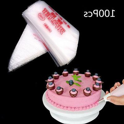 100PCS Disposable Piping Icing