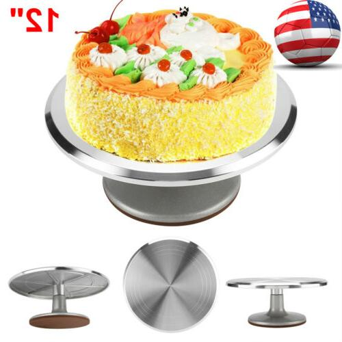 12 inch Turntable Rotating Decorating Pastry