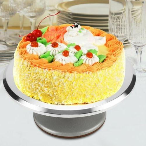 12 Aluminum Turntable Rotating Pastry Baking
