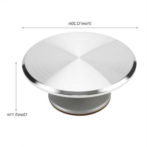 12 inch Turntable Pastry Decor