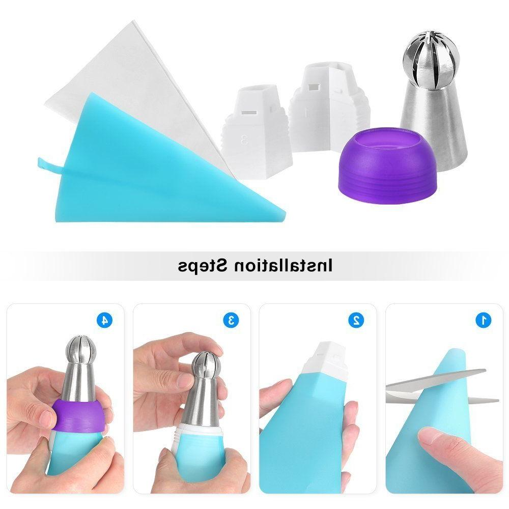 14 Ball Icing Cake Decor Pastry Tools