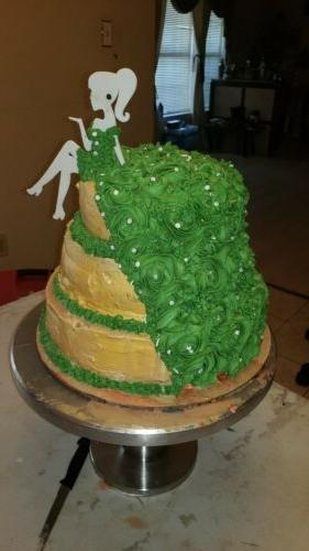 2 Large Cake or Decorations: Silhouette As Cake