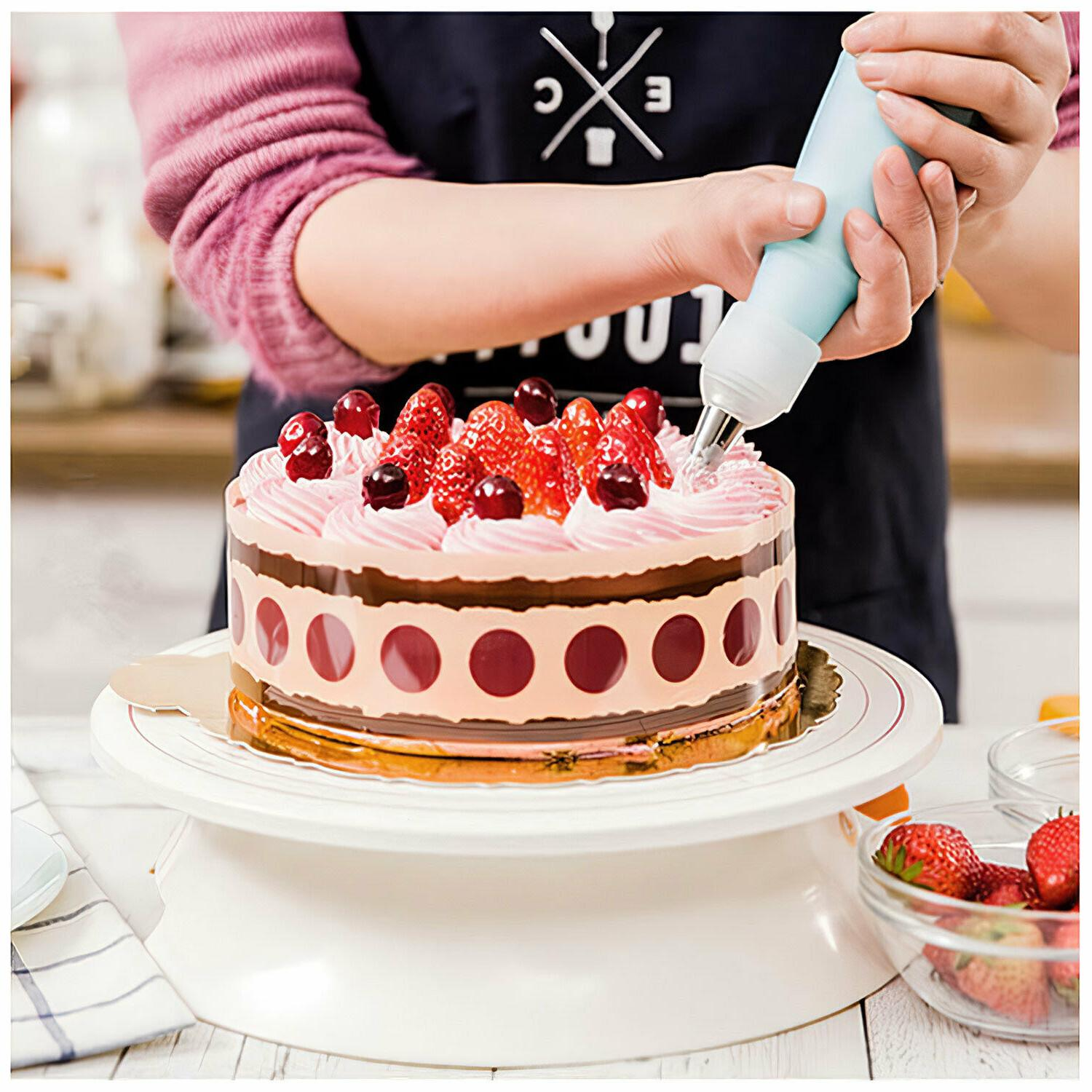 Silicone Icing Piping Pastry Bag Nozzles Cake