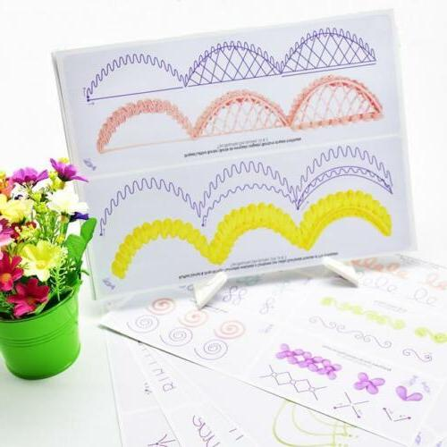 12Sheet Cake Decorating Board Practice Icing Drawing Paper S