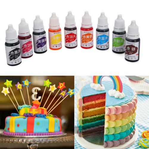 24Colors Pigment Food Coloring Chocolate