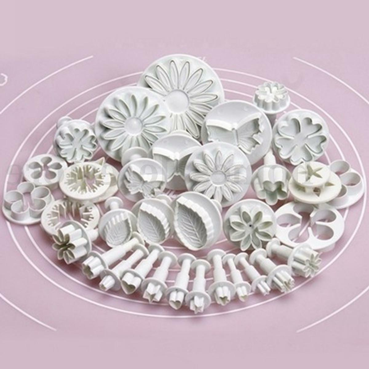33pcs pastry cutters tools sugarcraft cake decorating