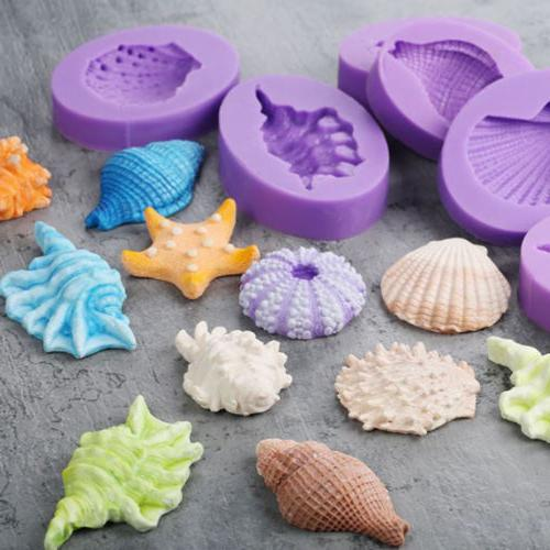 3D Sea Silicone Mold Cake Decorating