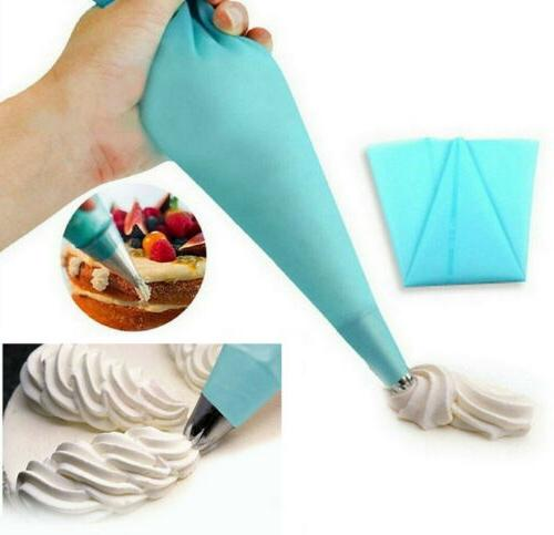 4 Pastry Icing Piping Cream Bags DIY Decorating Tool