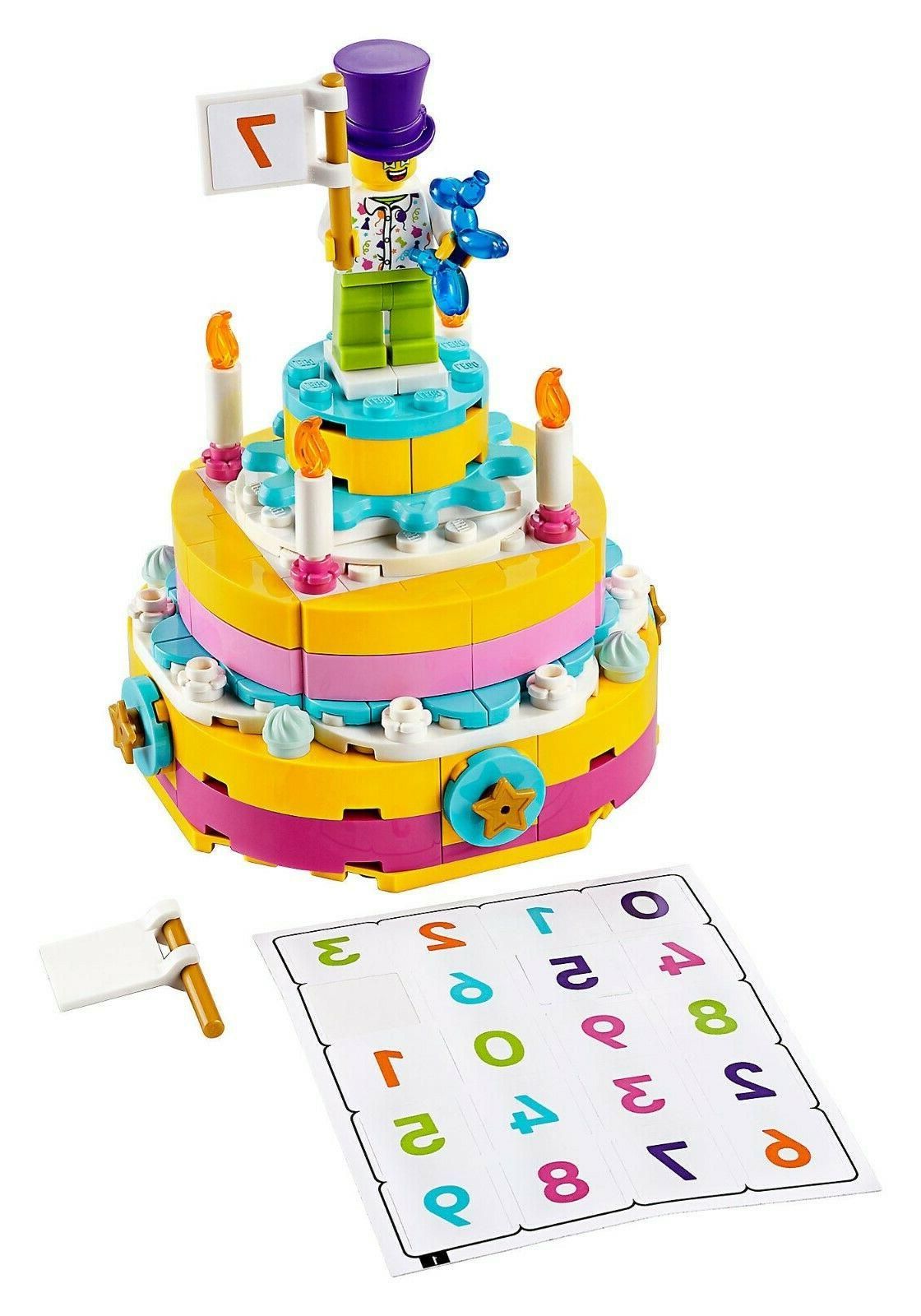 Lego 40382 Birthday Cake Table Building Set NEW