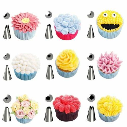 42Pcs Pastry Tips Decorating