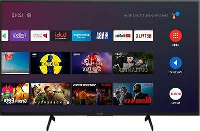 Sony - 4K UHD - Smart - - with HDR