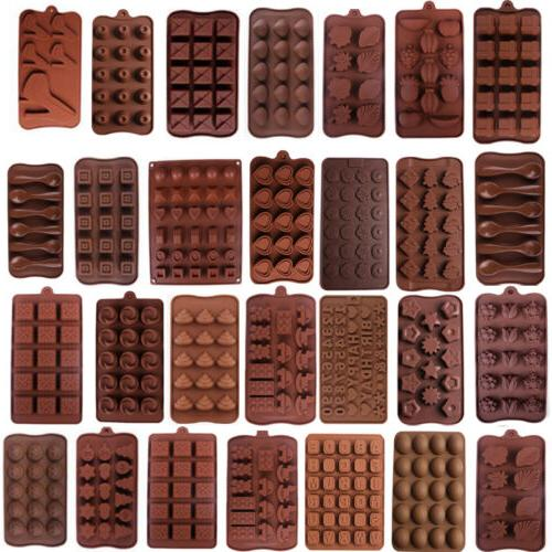 53 design silicone cake decorating mould candy