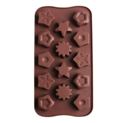 60 Shapes Decorating Moulds Chocolate Baking Mold