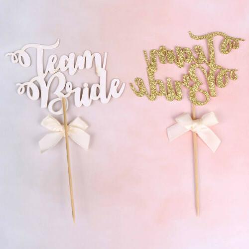 6pcs team cupcake toppers hen party decorations