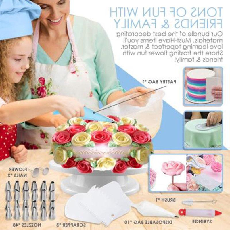 73 Pcs Baking Kit DIY Cake Cupcake Decorating Tools
