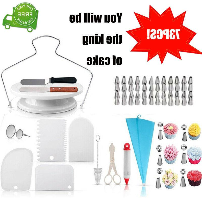 73 pcs baking supplies kit diy professional
