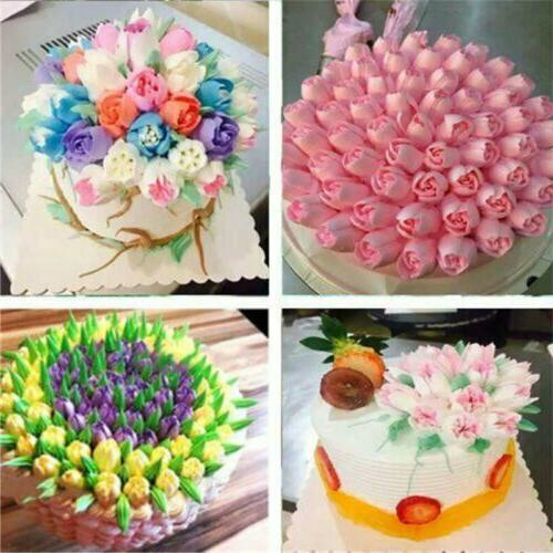 7pcs Russian Flower Piping Nozzles Tips