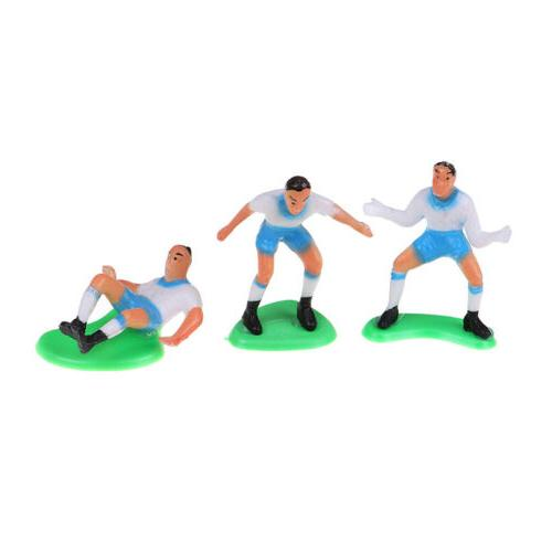 8pcs/Set Soccer Football Topper Player Birthday Decoration Model_CH
