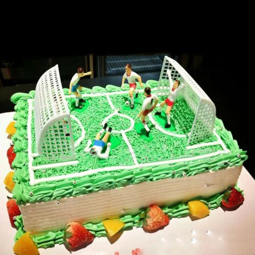 8pcs/Set Football Topper Birthday Cake Decoration Model_CH