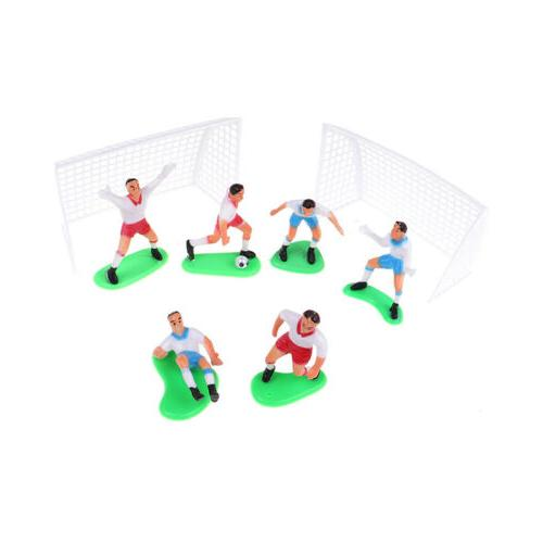 8pcs/Set Soccer Football Topper Player Decoration