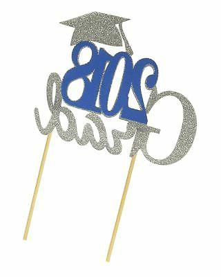 All About Details 2018 Grad Cake Topper