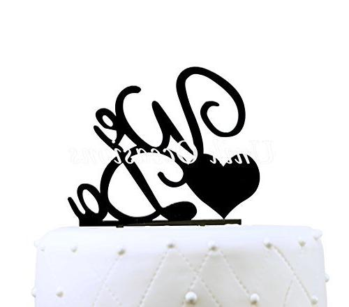 Buythrow We Do Cake Topper,personalized Wedding Cake Topper,