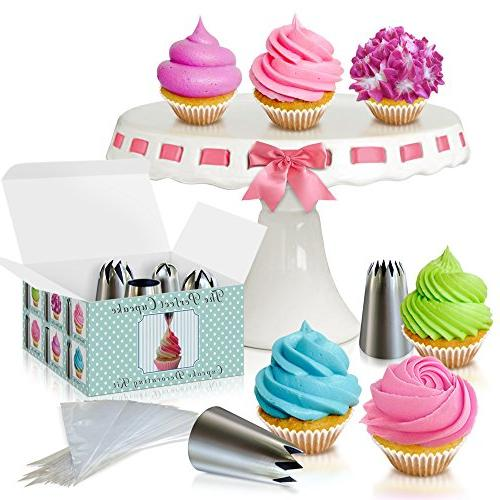 Cupcake Decorating Kit - The Perfect Cupcake By Love2bake -X
