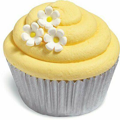 Wilton 710-7000 32 Count Daisy Mini Icing Decorations, Assor