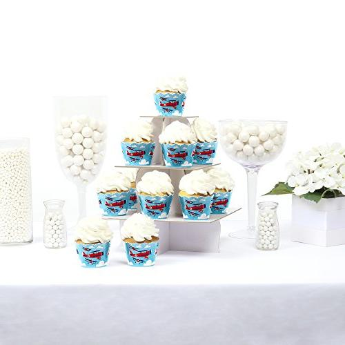 Taking Flight Decorations Cupcake Wrappers of 12