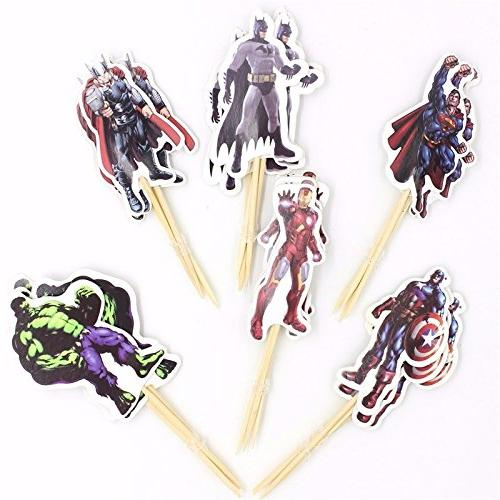 Pack The Avengers and Topper Party Decoration Party Decoration