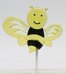 Cakesupplyshop 12 Pc 2 Inch Bee Cupcake Picks