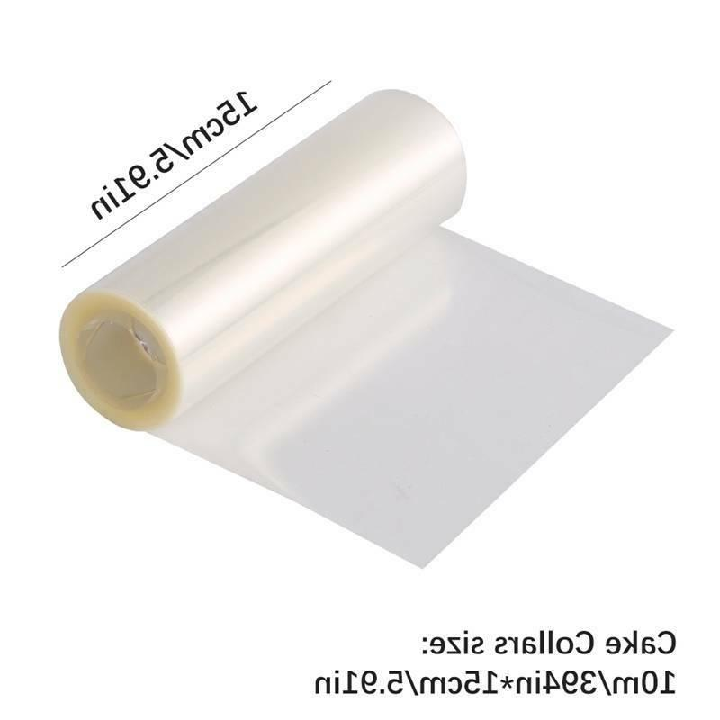 Cake Collars Clear Strips Transparent Acetate Roll Mousse Cake